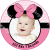 Minnie Mouse Etiket Sticker - ET114