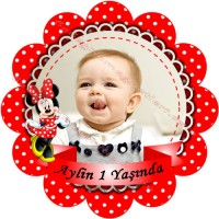 Mini Fare Fotolu Etiket - ET18 Etiket & Stickers