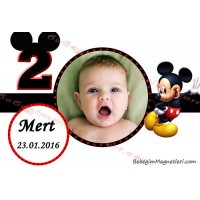 Mickey Mouse Resimli Magnet - DME91