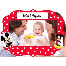 Mickey Mouse Foto Magnet - DMK63